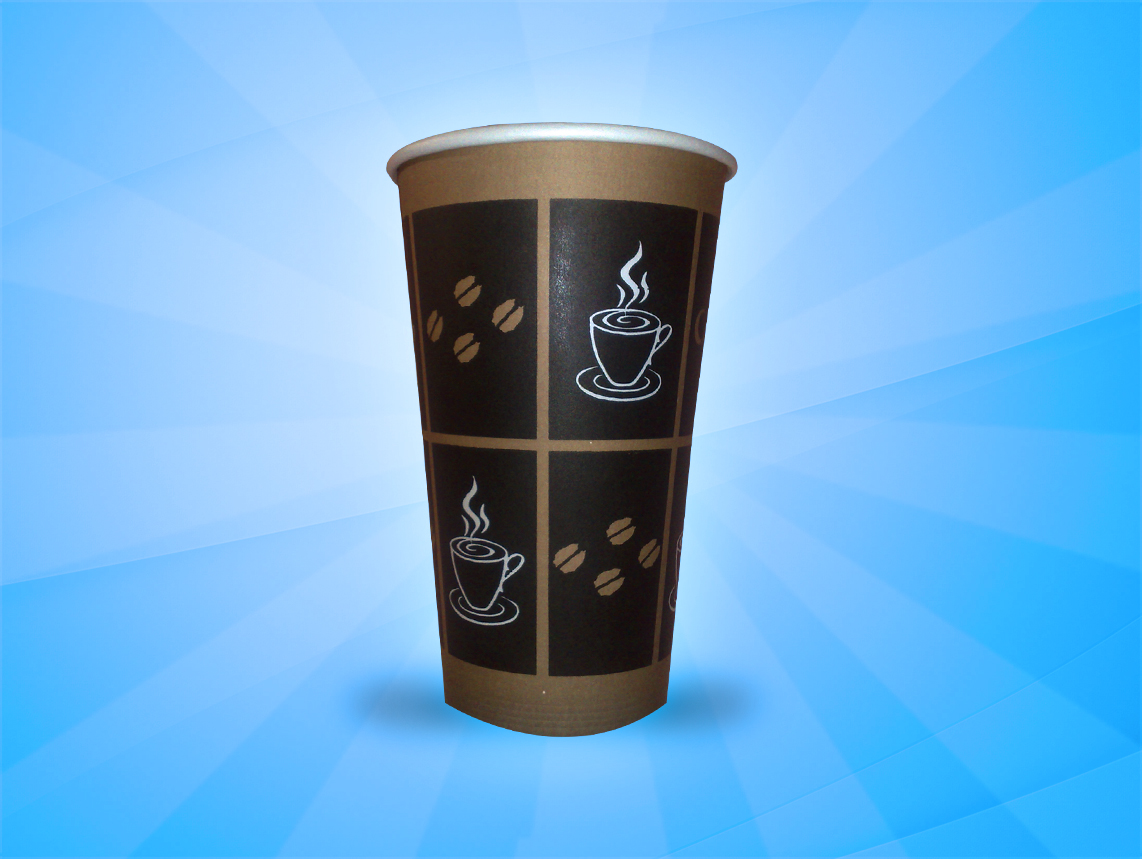 20 Oz. Hot Coffee Cups – 500 in Box