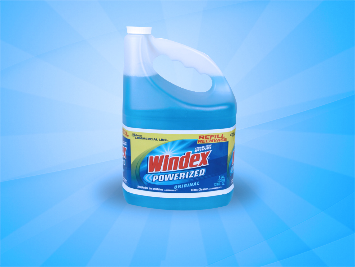 Windex Glass Cleaner 4 gallons/box