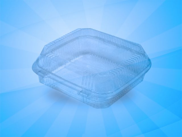 Clear container 9″x9″ (1120) 200 count
