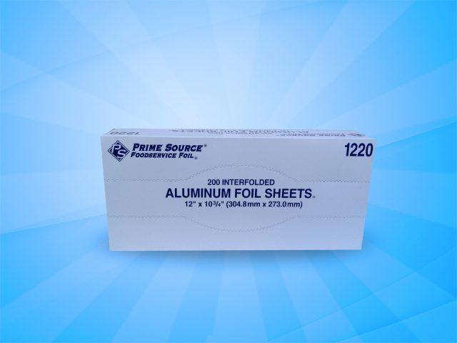 Prime Source 12″x10.75″ Aluminum Foil Sheets