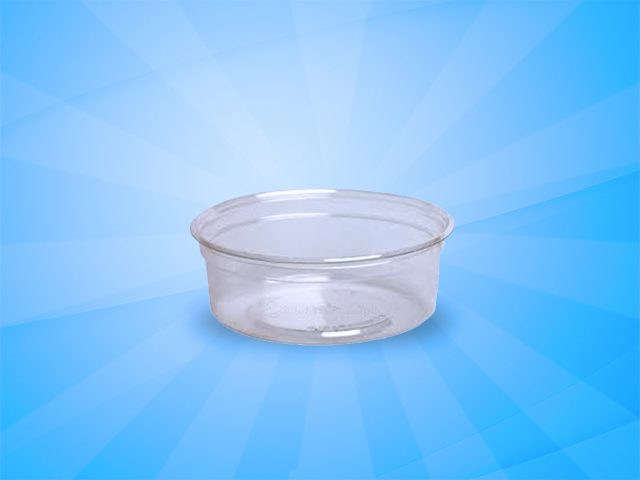 Plastic Soup Container