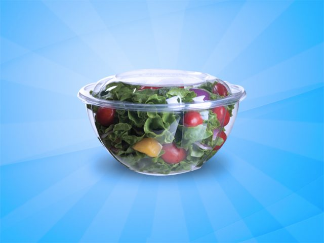 Salad Bowl Container