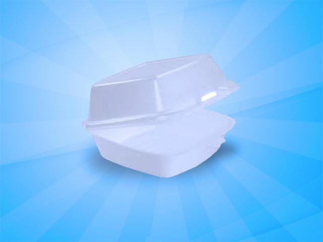 Foam Container 6″x6″ (60HT1) 500 count