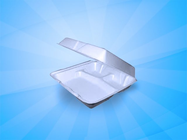 Foam Container 9″x9″ (95HT3) 200 count 3 comp.