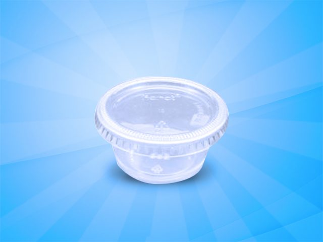 Clear Portion Cups