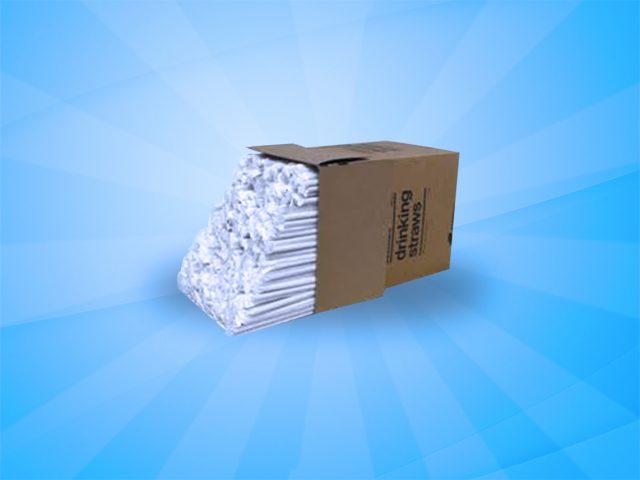Straw box 7 3/4 inch