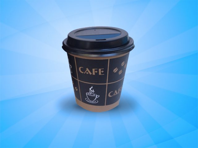 8 Oz. Hot Coffee Cups – 1000 in Box
